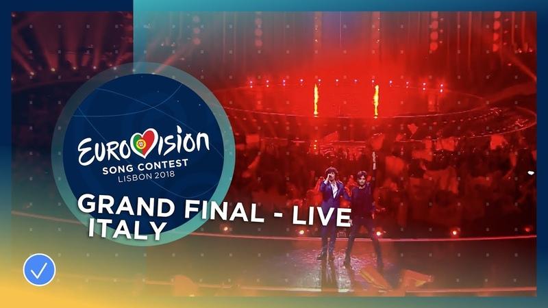 Ermal Meta e Fabrizio Moro Non Mi Avete Fatto Niente Italy LIVE Grand Final