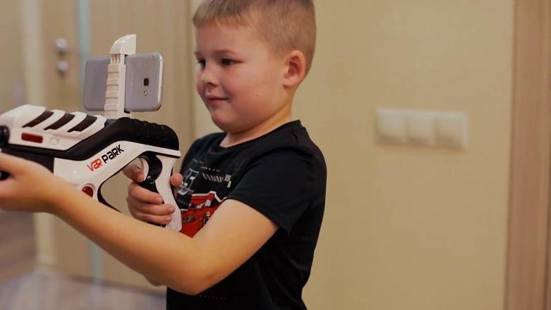 Ar Game Gun от IGRA NOVA VR виртуальная реальность