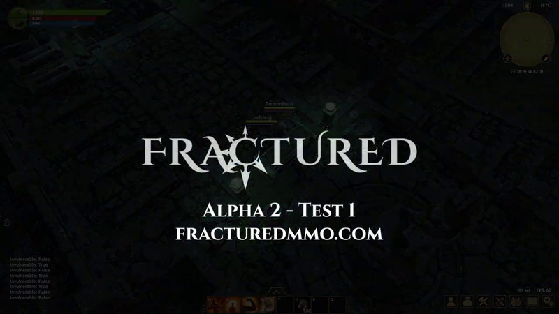 Fractured MMO Alpha 2 Test 1 New Features Trailer