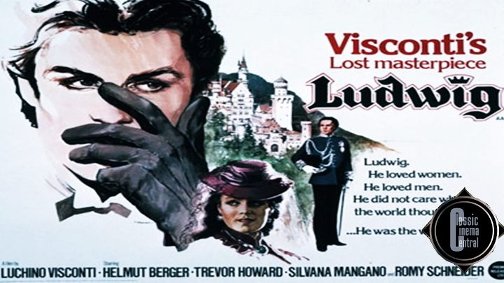 Ludwig (1973) Helmut Berger, Romy Schneider, Trevor Howard