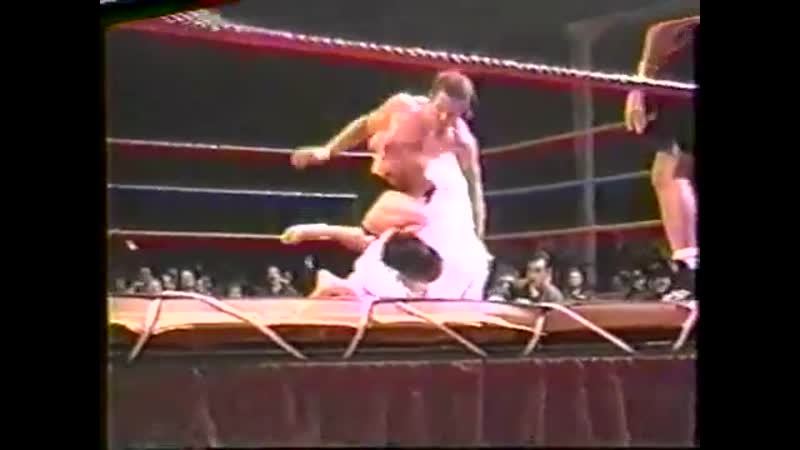 Evan Tanner vs Paul Buentello USWF 3