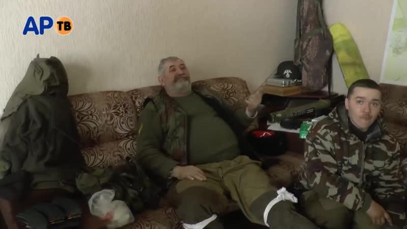 Эксклюзив! Командующий Казачьей Национальной Гвардии Козицын Н.И. с передовой в Дебальцево