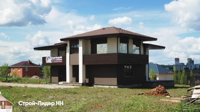 Каркасный дом в райтовском стиле в ТИЗ Надежда