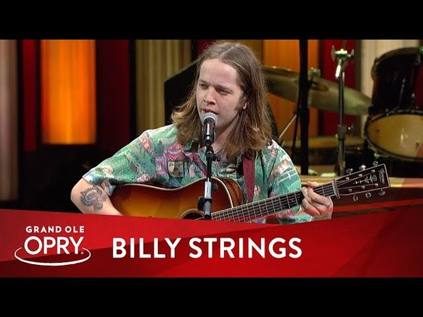 Billy Strings Dust In A Baggie Live at the Opry Opry