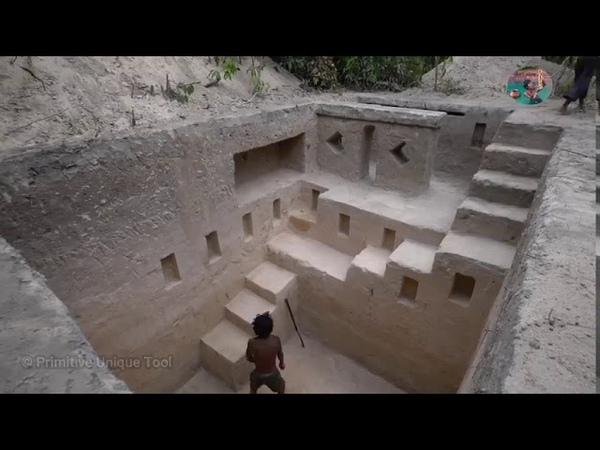 Невероятно Строительство Самых Удивительных Храмовых Бассейнов Под Землей С Помощью Древних Навыков