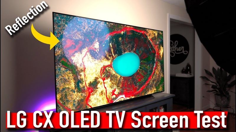 Testing the Performance of the LG CX OLED TV Tone mapping Picture Processing Reflection 4K HDR
