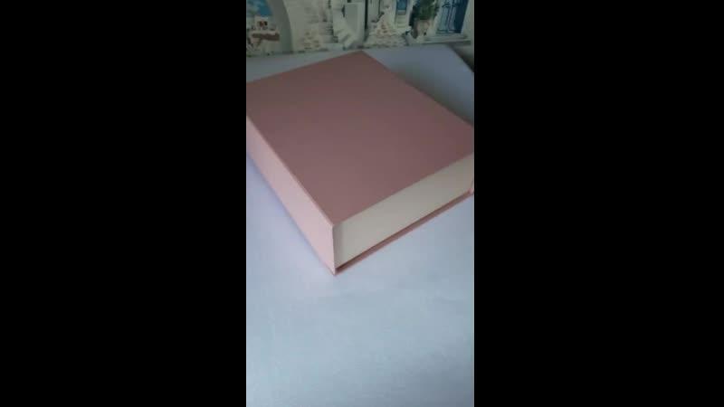 Большие розовые коробки Artitel