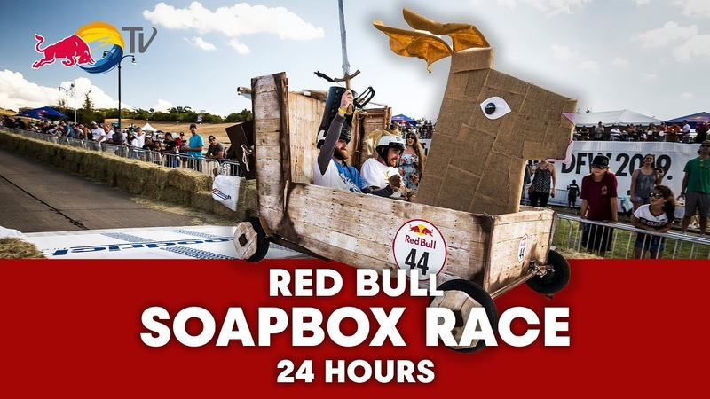 24 Hours of Red Bull Soapbox Race World's Craziest Most Creative Four Wheeled Race