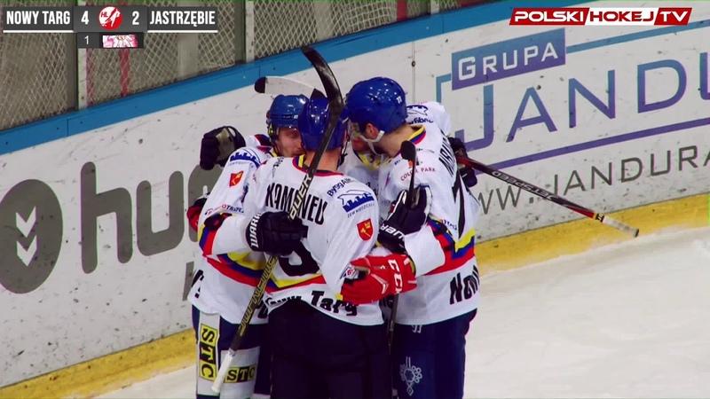 Gwiazdy Polskiej Hokej Ligi Krystian Dziubiński