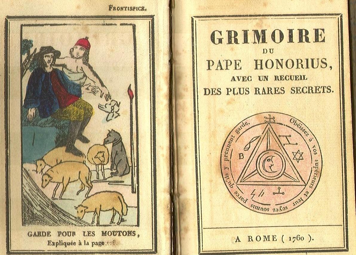 Гримуары - средневековые книги для вызова демонов, колдовства и магии