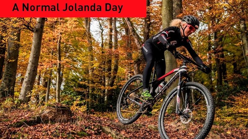 A day with MTB athlete Jolanda Neff
