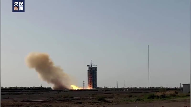 试验六号02星发射成功 转起祝贺