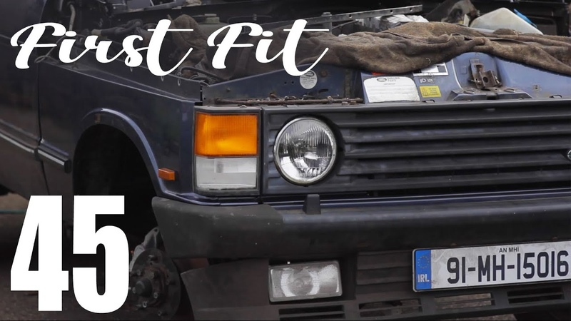 Range Rover front end first fit SOUP Classic Motoring 45