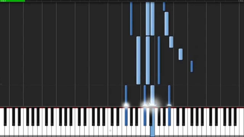 Wiosna - Katawa Shoujo [Piano Tutorial] (Synthesia) Animenz