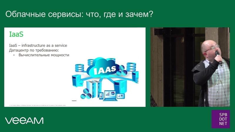 Александр Баранов R D Director Облачные сервисы: что где и зачем?