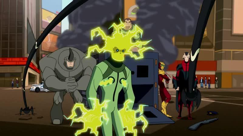 Человек Паук против Зловещей Шестерки Грандиозный Человек Паук Мультсериал 2008