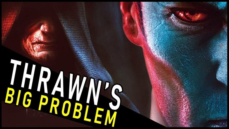 The BIG PROBLEM with Thrawn Treason a lot of new Star Wars Books