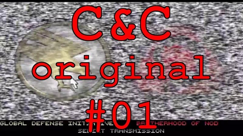 С C Original DOS Прохождение 01 Установка Заставка Уровни 1 4 Кампания GDI GIHTP
