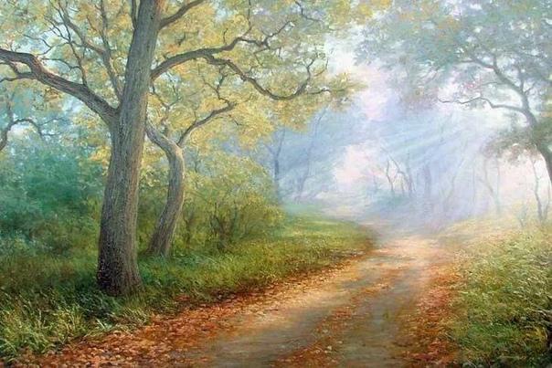 Художник Аркадий Олейник родился в Белоруссии в 1965 году