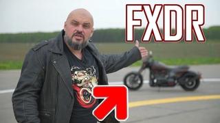 Harley-Davidson FXDR 114 2019. Пушка? Гонка? Новый V-Rod? #МОТОЗОНА №58