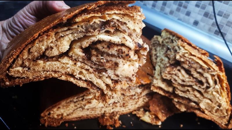 Слойки на кефире к чаю упрощенный способ приготовления РАЗ РАЗ И ГОТОВО Tasty pastries RECIPE