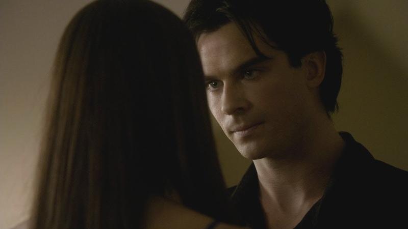 Деймон признается Елене в любви Дневники вампира