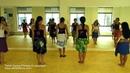 TE PUA NOA NOA - Mahealani Uchiyama All Levels Tahitian Dance Aparima Ori Tahitiタヒチアンダンス