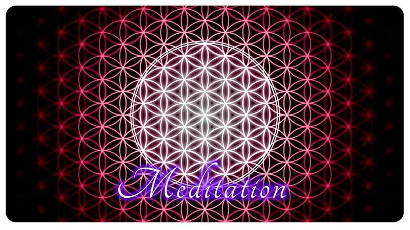 Blume des Lebens Wellen Meditationsmusik 7 Minuten Entspannung für die Seele
