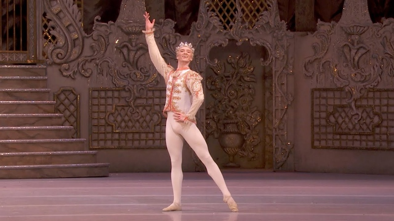 The Nutcracker Sugar Plum Prince Variation Vadim Muntagirov of The Royal Ballet