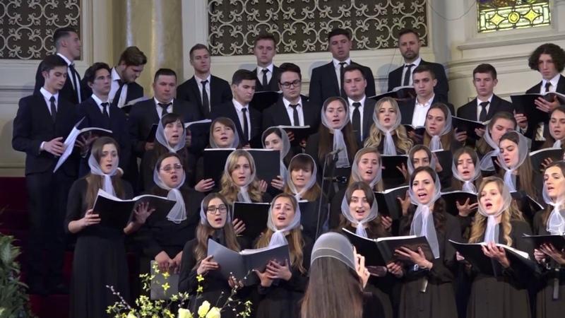 Ukrainian Bible Church Choir - Beloved, Let Us Love One Another