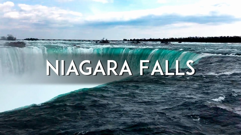 NIAGARA FALLS in FullHD 3 HOURS The Sound of the Waterfall For sleep and Meditation