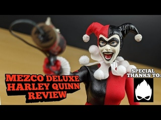 Mezco Harley Quinn Deluxe Review