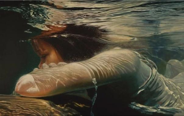 Художник из Канады, Марке Хейне На данный момент, этот человек один из немногих представителей такого жанра живописи, как магический реализм.Ребёнок был окутан сказкой и высокими материями. Отец