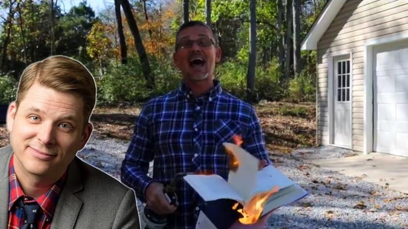 Pastor Burns Atheist's Book Author Responds ft Andrew Seidel