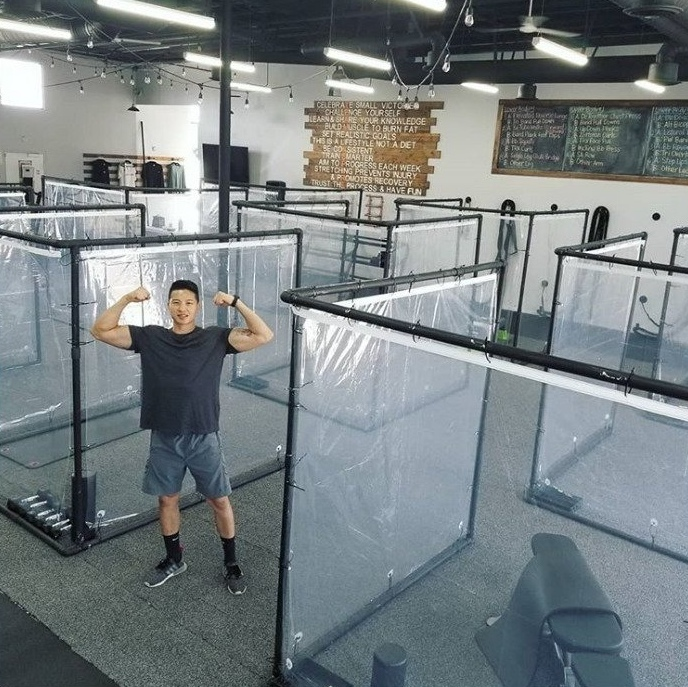 Примерно так теперь будут выглядеть спортзалы