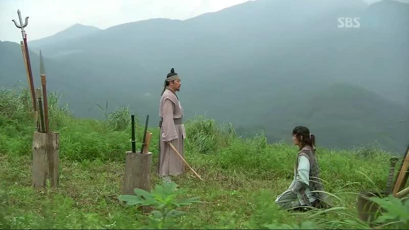 Эпизод из дорамы Воин Пэк Тон Су 15 сер Великий воин Чосона