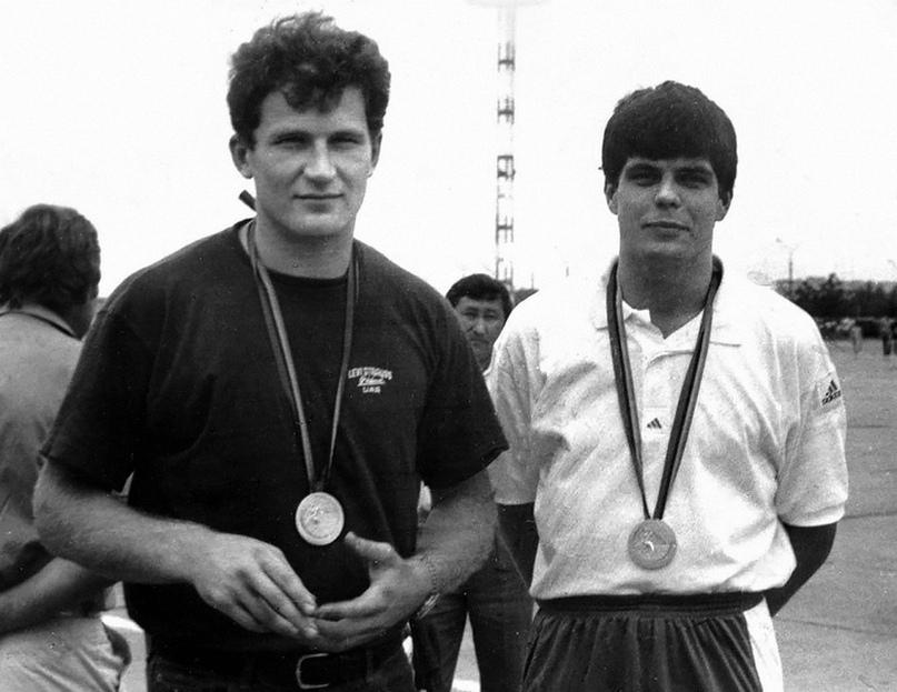 Олег Киселев и Василий Кудиной