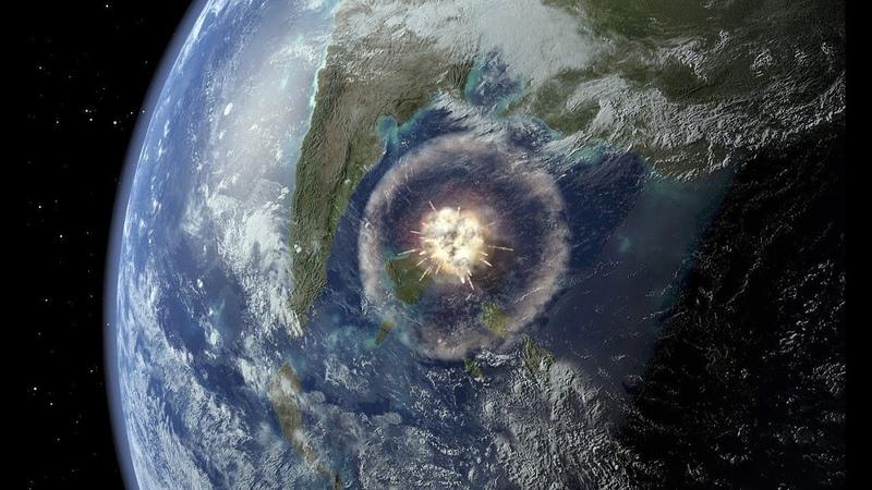 Встреча с астероидом Земля после падения гигантской каменной глыбы Космос Вселенная 21 10 2016