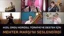 Kızıl Ordu Korosu'ndan Türkiye'nin koronavirüs mücadelesine Mehter Marşı ile moral desteği