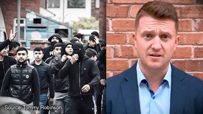 Tommy Robinson's view What REALLY happened at Muslim riot in Oldham