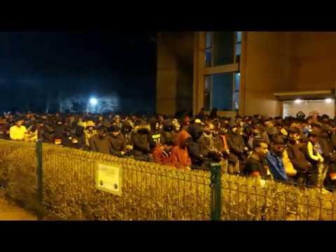 Migranti u Šidu uzvikuju Alahu ekber