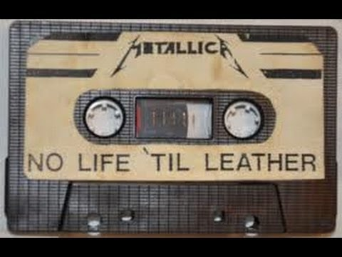 Metallica No Life 'Til Leather Power Metal Megaforce Demos 1982 1983