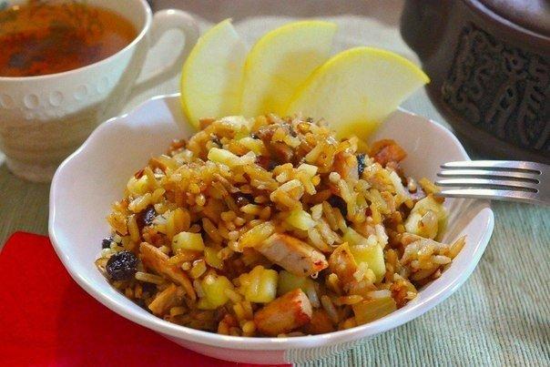 Рис с бужениной  Время приготовления: 25 минут  Ингредиенты:  Рис готовый —...
