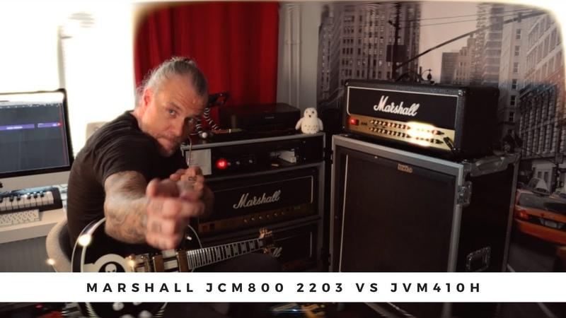 MARSHALL JCM800 2203 vs JVM 410H