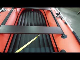 Лодка ORCA DRAKKAR 350 НДНД - обзор -