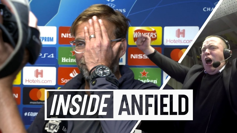 Inside Anfield Liverpool 3 2 PSG Unseen footage from another classic