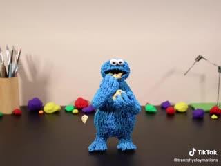 Пластилиновая анимация от Trent Shy | The Blue Claymation