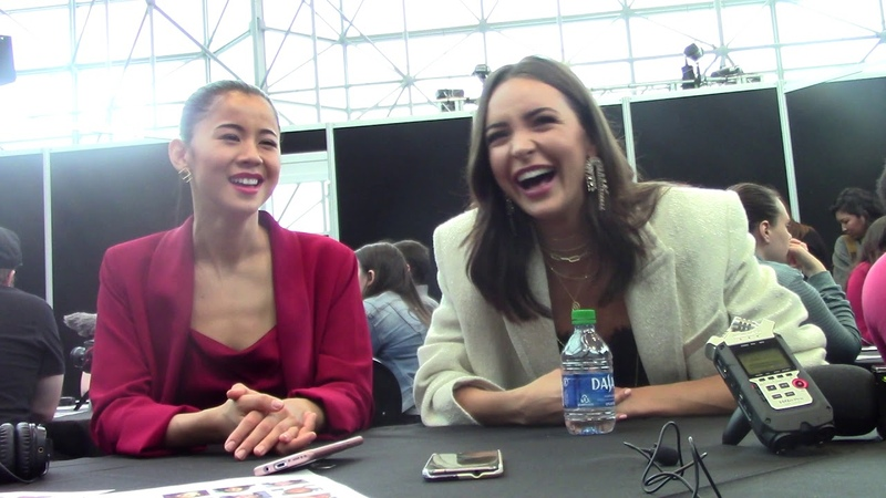 Nancy Drew Leah Lewis and Maddison Jaizani talk about George and Bess at NYCC 2019
