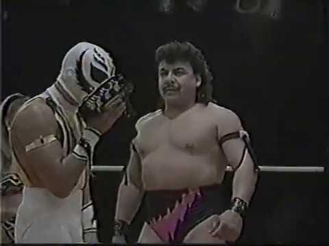 [My1] Rey Misterio Rey Misterio Jr. vs Fuerza Guerrera Juventud Guerrera (WWA Tag Team Titles)