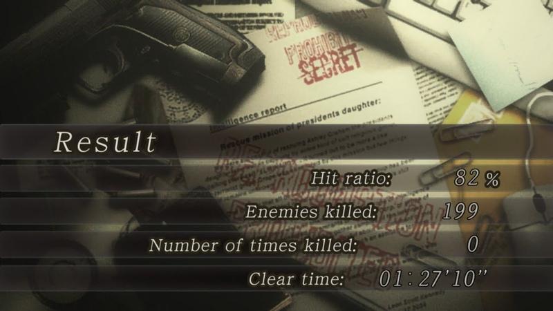 【Resident Evil 4】New Game Pro Speedrun - 012710 (IGT) 012235 (LRT)